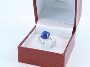 Bague en Lapis Lazuli et argent 925 par 1000 BA-LA-LA-AR-002
