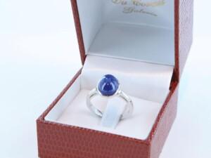 Bague en Lapis Lazuli et argent 925 par 1000 BA-LA-LA-AR-006