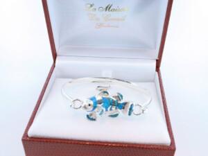 bracelet en opale et argent 925 par 1000 BR-OP-BL-015