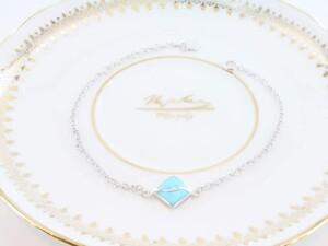 bracelet en turquoise véritable et argent 925 1000 BR-TU-AR-006